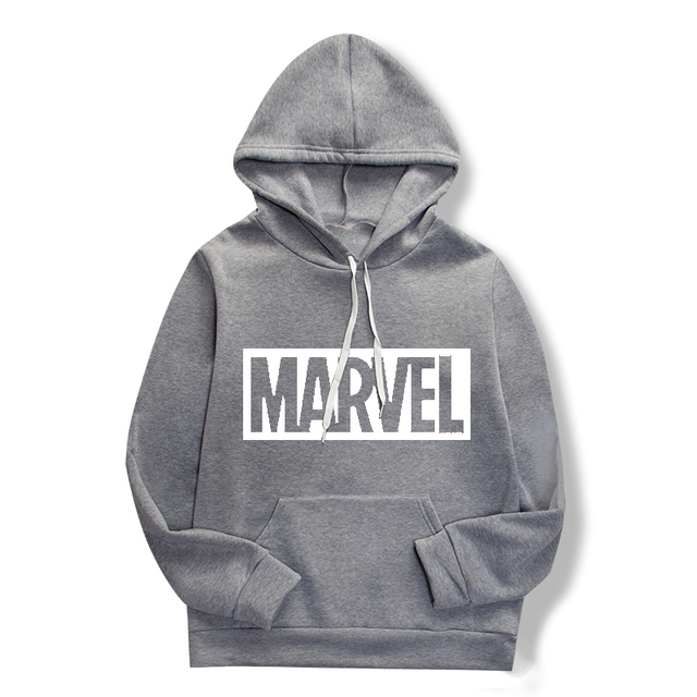 Brand new cartoon marvel sweatshirt hoodie fashion casual hoodie men's jumper men's sportswear suit