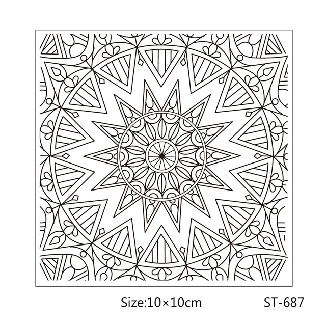 ZhuoAng Shape of the sun style Clear Stamps For DIY Scrapbooking/Card Making/Album Decorative Silicon Stamp Crafts