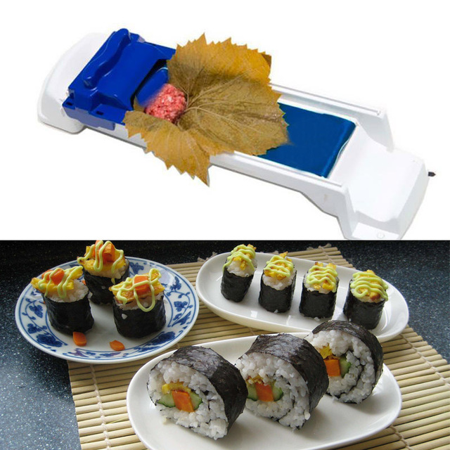Sushi Roller Machine Kitchen Grape/Cabbage Leaf Rolling Tool Roll Maker Supply