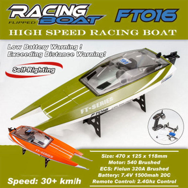 2018 Remote Control Boat Multicolor Speedboat Efficient Outdoors Durable River Racing Boat Party Drop Shipping