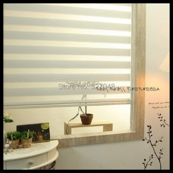 FREE SHIPPING blackout zebra blinds budget blinds double-layer roller blinds window curtain
