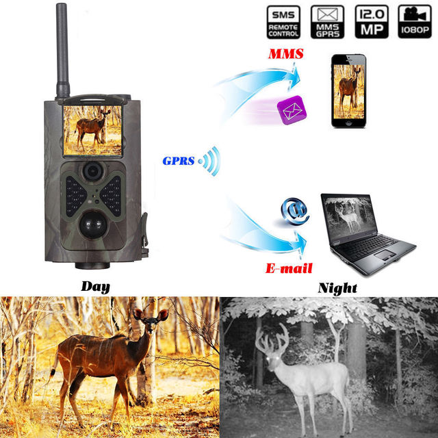 CE ROHS Trail cam 940nm infrared scouting thermal camera hunting for outdoor wildlife camera trap photos hunting camera gprs mms