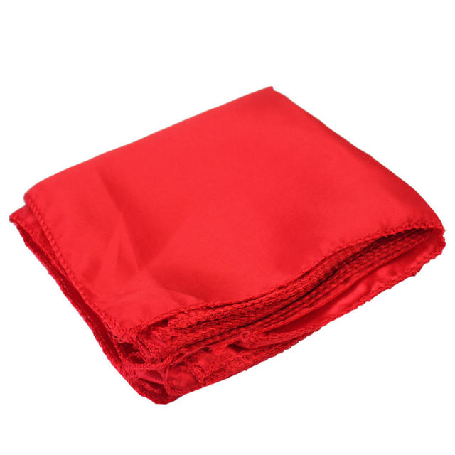 10pcs 28x28cm Polyester Cloth Dinner Table Napkins Square Pocket Handkerchief Serviette for Wedding Party Hotel Banquet Decor