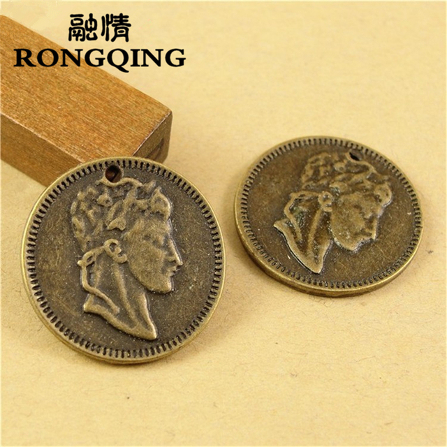 RONGQING 22MM 40pcs/lot Avatar Pendants Necklaces Handmade Fashion Jewelry Charms DIY