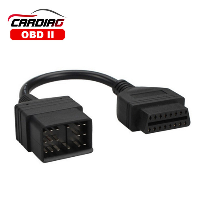 Для Toyota 17 Pin to 16 Pin OBD OBD2 Кабель-адаптер Диагностический интерфейс 17 pin OBDII удлинитель Бесплатная доставка