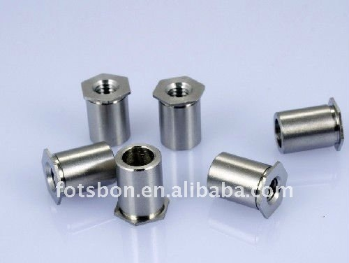 SOS-M3-3 , Thru-hole Threaded Standoffs,stainless steel,nature,PEM standard, made in china,in stock,