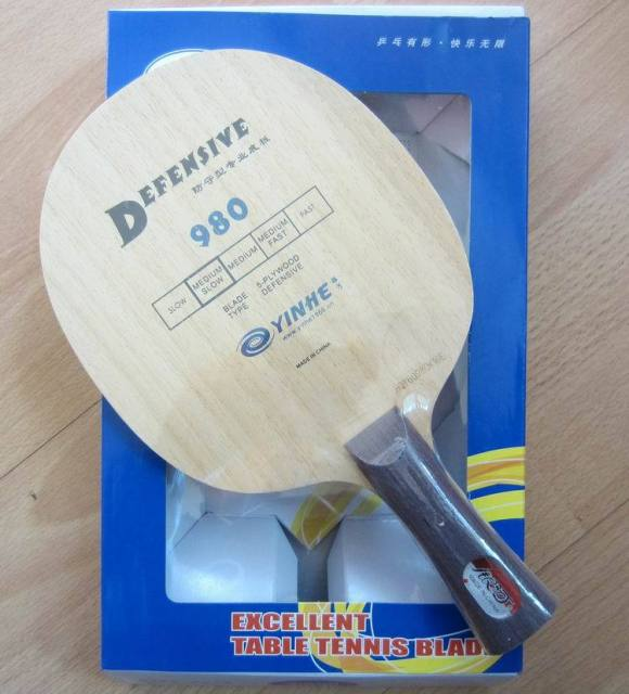original milky way  Yinhe 980 Table Tennis Blade for defensive chopping table tennis racket racquet sports pingpong paddles