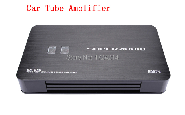 The latest high -quality Hi-Fi Auto Car Amplifier Stereo Audio tube Amplifier 4 -channel amplifier tube amp car tube amp
