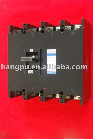 Moulded Case Circuit Breaker (MCCB) DZ20-630 4P