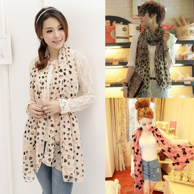 Hot 2014 scarves from new fashion echarpes oversized scarves chiffon shawls fashion from india leopard scarf women free shipping