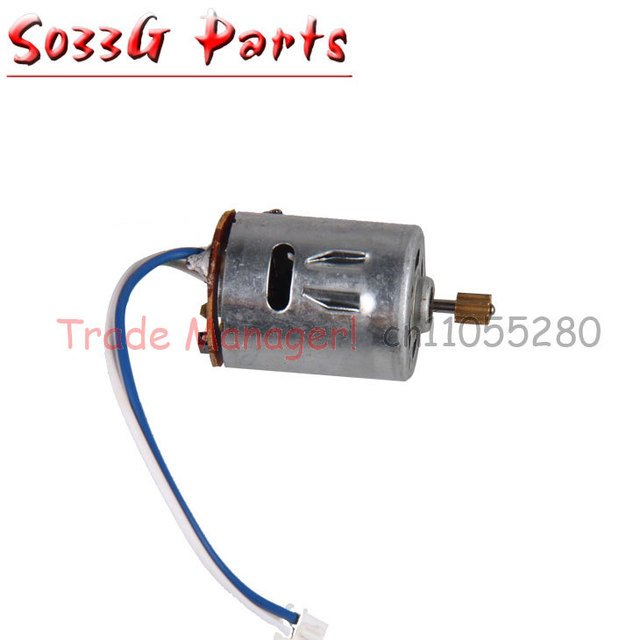 Free shipping Syma s033g s033 rc helicopter parts S033G-24 motor A s033 main motor Accessories from origin factory