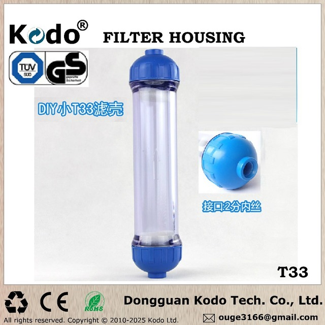 filter mineratic kdf ball activated carbon transparent small t33 shell transparent filter housing filter bottle