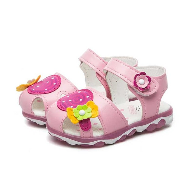 Cute Princess Sandals Baby Kid girl Shoes Shoes Sandals Toddler Kids Girl Non-slip Summer SandalsY