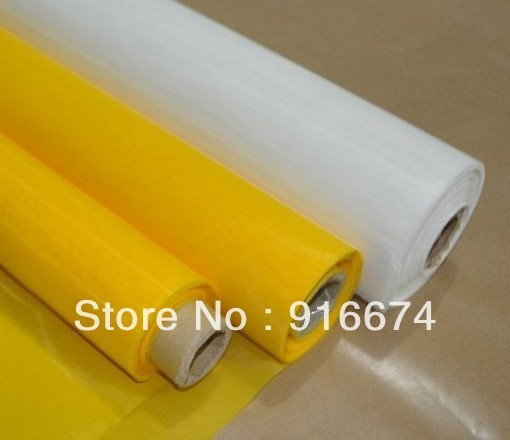 """Freeshipping! Discount 5 meters 300M 120T yellow polyester silk screen printing mesh 127CM/50"""" width"""