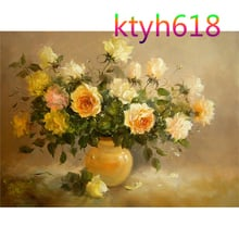 DIY Digital Oil Painting On Canvas Unique Gifts Home Decoration 40x50cm Frameless Pictures Painting By Numbers L24
