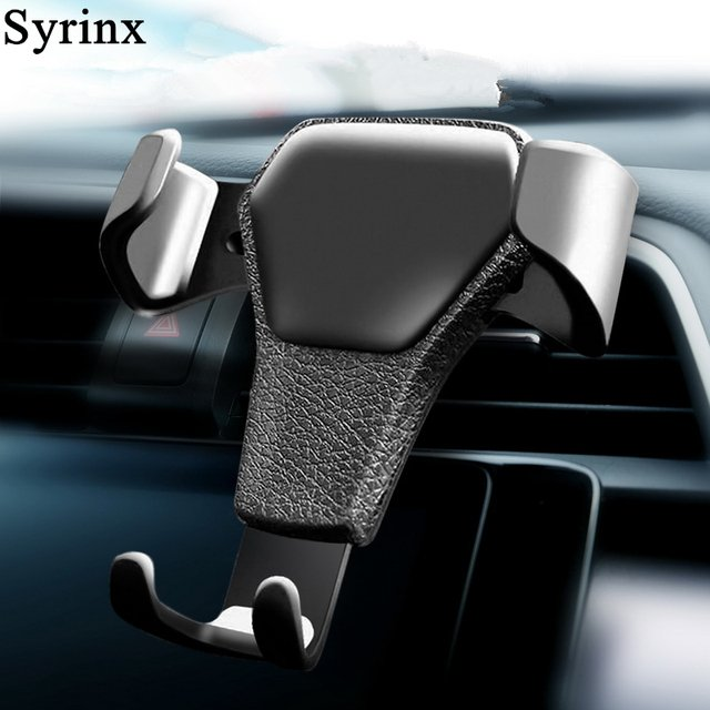 Gravity Car Holder For Phone in Car Air Vent Clip Mount No Magnetic For iPhone X XS 7 Xiaomi Mobile Phone Cell GPS Stand Support