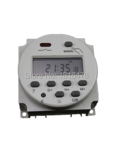 CN101A  DC12V Digital LCD Programmable Timer DC 12V 16A Time Timer Relay Switch