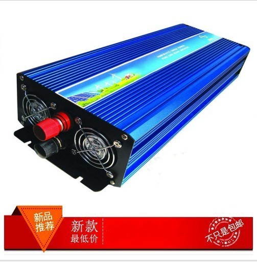 4000W 12V dc to 220V ac Pure Sine Wave Power Inverter 4000W off inverter car inverter Free shipping