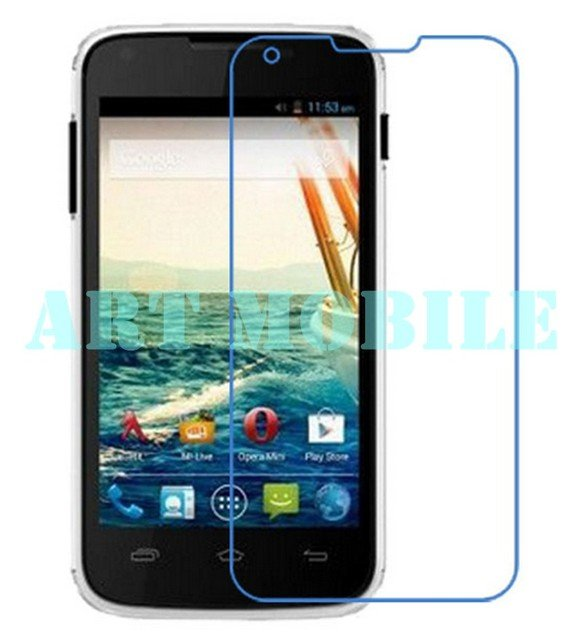 New 10pcs/lot wholesale High Clear LCD Front Screen Protector Film For Micromax A092 Protective Film Free Shipping