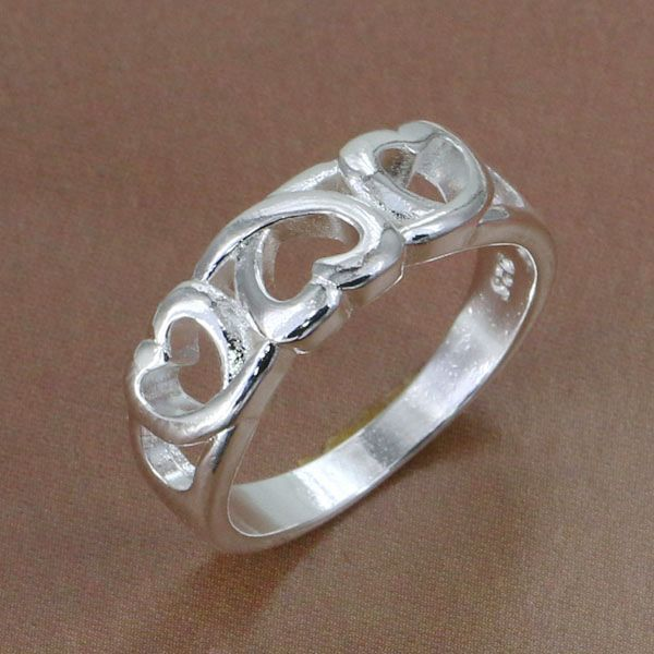 S-R090 Free shipping,wholesale silver plated   ring,fashion/classic jewelry, Nickle free,antiallergic,Factory price