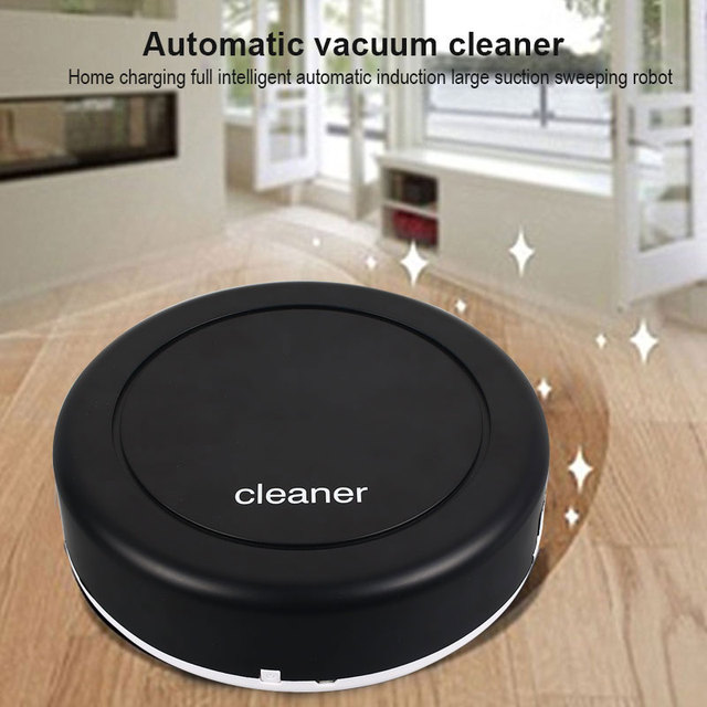 Universal New Automatic Smart Vacuum Cleaner Sweeper Edge Automatic Smart Robot Vacuum Cleaner Rechargeable Home Strong