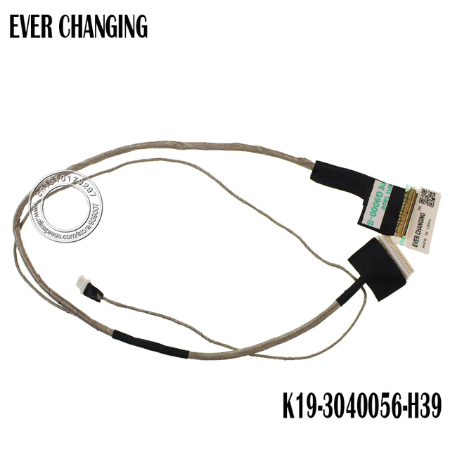 New Original LCD CABLE for MSI MS1763 LVDS Cable MSI-1763 LCD LVDS LED CABLE K19-3040056-H39