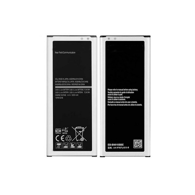 Original Replacement Battery For Samsung Galaxy Note 4 SM-N910F EB-BN910BBE NFC 3220mAh for Samsung Galaxy Note 4 Battery N910V