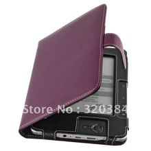 High Quality PU  Leather Cover folio protective Case for PocketBook pro 602/603/612 purple wholesales 1 PC FREE SHIPPING