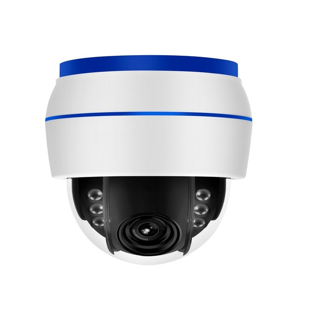 5MP Sony sensor 2.7-13.5mm 5x optical zoom wifi Dome cameras Onvif wire free PAN/Tilt IP cameras 5MP P2P wireless cameras
