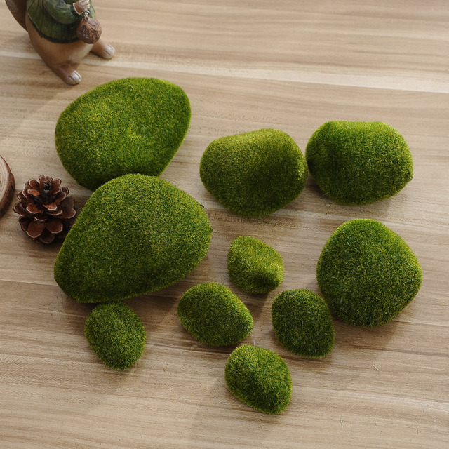 Foam 5PCS Aquarium Moss Ball Moss Ball Ornament Aquarium Marimo Gift for Valentine'S Day