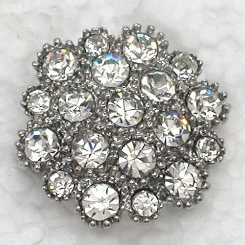 12pcs/lot Wholesale Fashion brooch Rhinestone wedding Bridal Party Prom Small Flower Pin brooches C101664