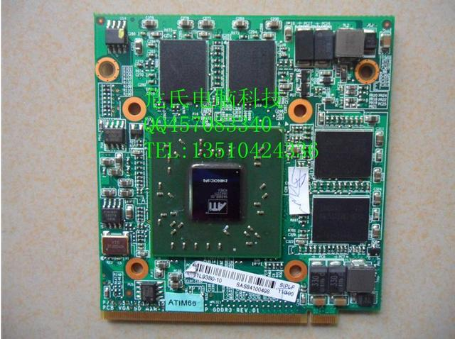 for acer 4920g laptop graphics card ATI Mobility Radeon HD 2400 XT 256M VGA Video card 100% tested