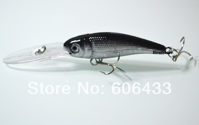 10PCS Minnow Fishing Lures Fish Lure Crankbait Baits/Tackle 10cm 9g