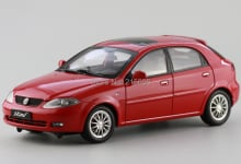 DIE-CAST MODEL,DEALER 1:18,China GM BUICK Excelle hrv,hatchback,red