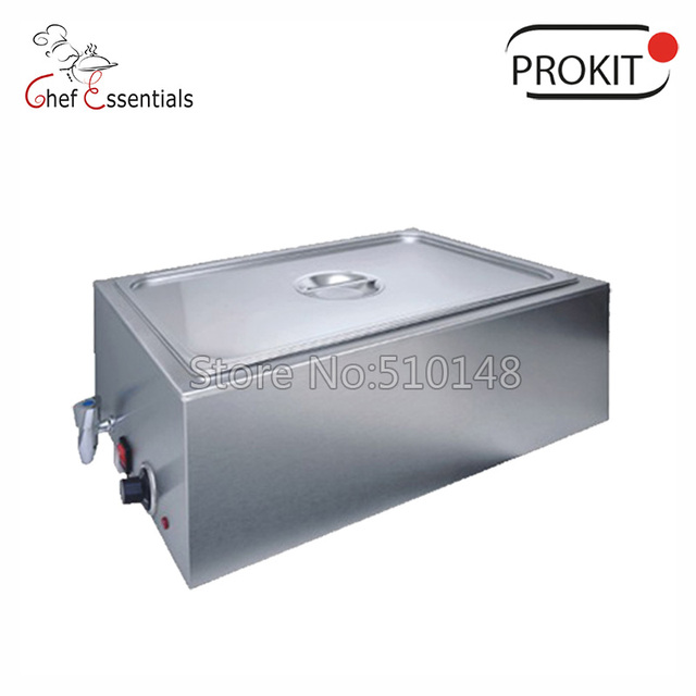 PKLH-165BT-1 Electric Bain Marie #201stainless steel warm mechine for hotel food warming showcase soup display Buffet