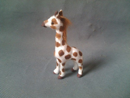 mini 10cm simulation giraffe Handmade model toy,polyethylene& furs toy,home decoration Xmas gift w4054
