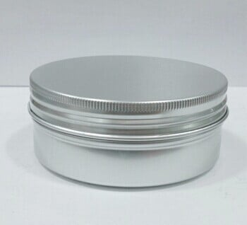 50pcs/lot Free shipping 200g Aluminum Container 200ml Cream Jar Metal Round Tin Cosmetic Packaging ZKH46