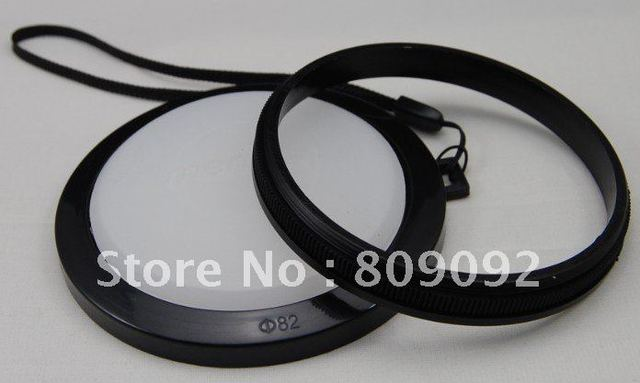 Mennon  Waterproof 82mm White Balance Lens Filter Cap with Mount