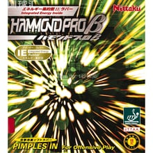 Nittaku Hammond Pro Beta (Pro B) Table Tennis Rubber - Integrated Energy Inside, Backhand Recommendation