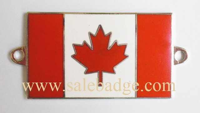 Custom CANADA Hard Enamel flag Pin badge  maple brooch  red maple leaves