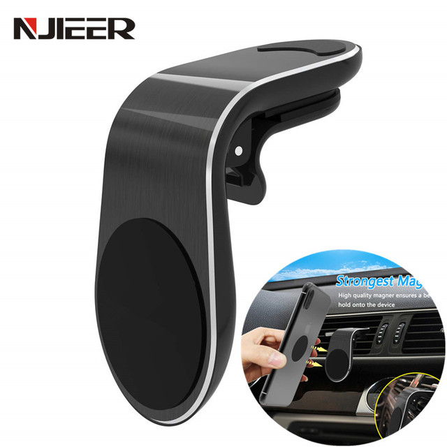 Universal Car Phone Holder For iPhone X XS MAX 7 Samsung Xiaomi Huawei In Car Air Vent Support Magnetic Mobile Phone Mount Stand