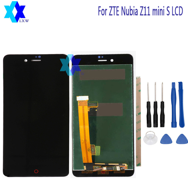 For ZTE nubia Z11 mini S NX549J LCD Display + Touch Screen Panel Digital Replacement Parts Assembly Original 5.2 inch 1920x1080P