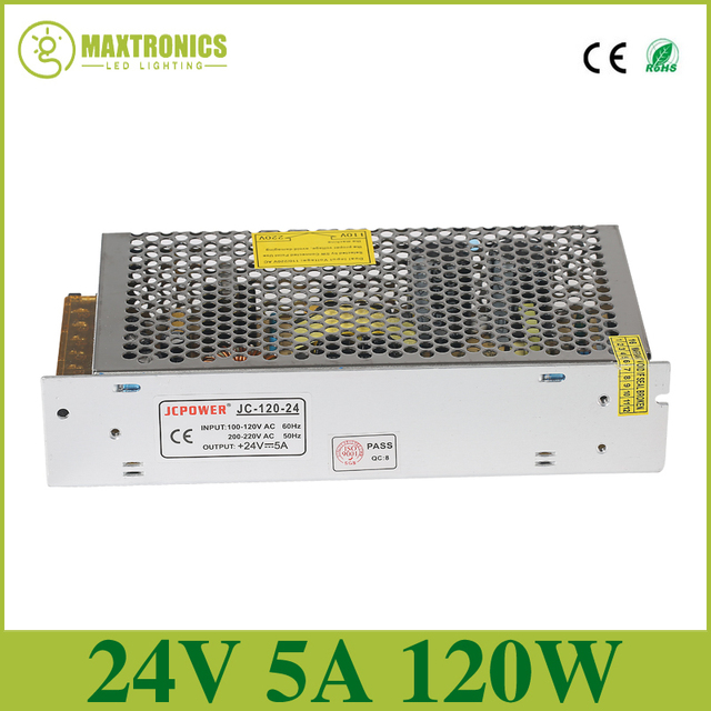 Best price Universal Regulated Switching Power Supply,output DC 24V 5A led power for led strip led lampfor led lamp