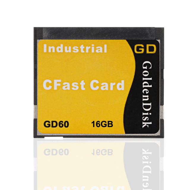 GoldenDisk Complact Flash Cards 16GB CFast SSD SATA Industrial PC Needed SATA II SSD Solid State Drive Internal 3Gb/s