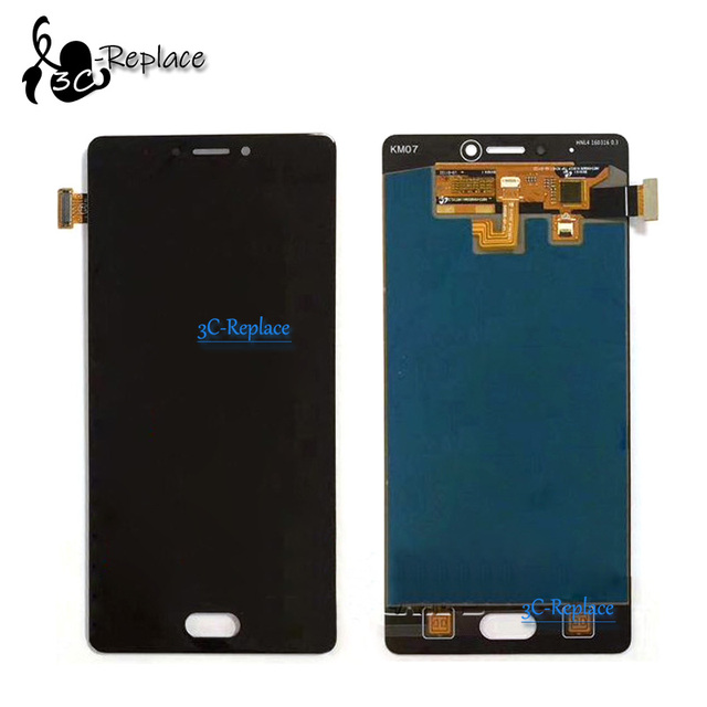 100% Tested High Quality 5.5 inch For Qmobile Noir Z13 Full LCD Display + Touch Screen Digitizer Assembly Replacement parts