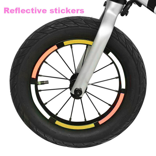 10pcs Portable Scooter Sticker Toys Children Tool Reflective Sticker Durable Bicycle Reflective Paste Case Cover Entertainment