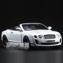 High Simulation Exquisite Diecasts & Toy Vehicles: KiNSMART Car Styling Continental GT Supercar 1:38 Alloy Diecast Model Pull Back Cars Doors Openable