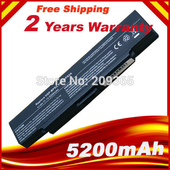 NEW replacement laptop battery for SONY BPS2  VGP-BPS2, VGP-BPS2A, VGP-BPS2B, VGP-BPS2C battery