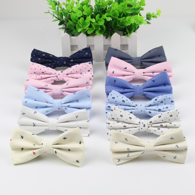 Women's Fashion Tuxedo Cotton Designer Colorful Butterfly Wedding Party Casual Cravat Bow Tie