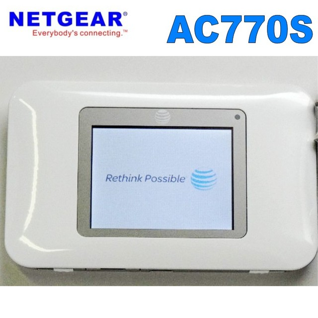 large stock Netgear wireless router AT&T Aircard AC770S 4G LTE wireless hotspot